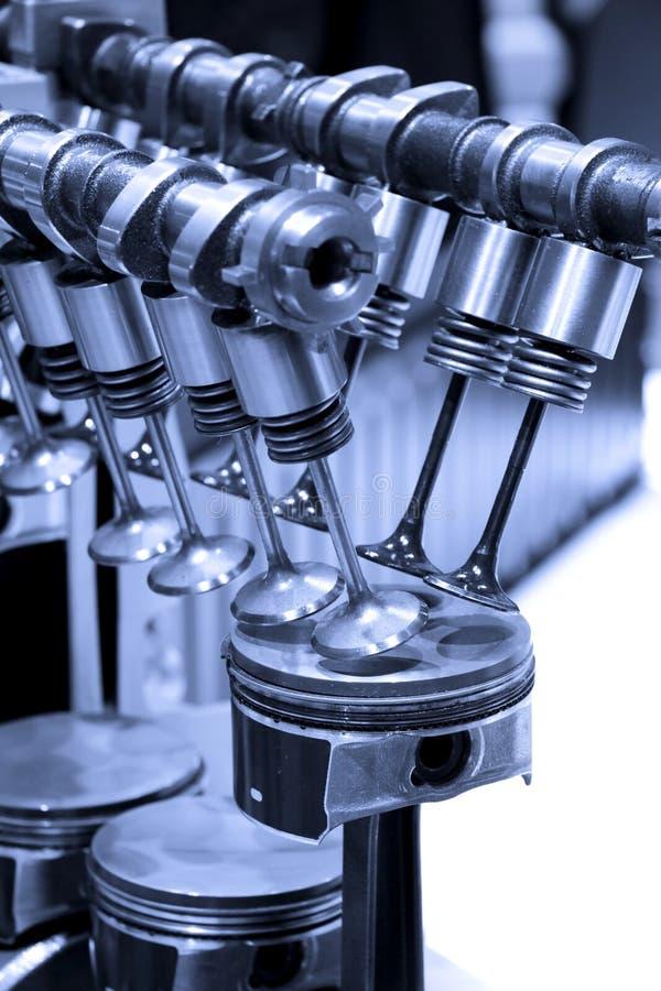 details motorn arkivfoto