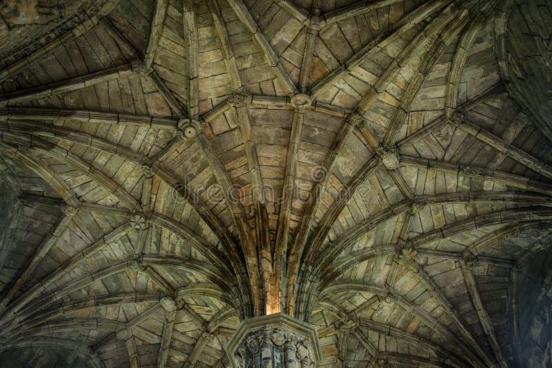 Irish Cathedral interior stock photos