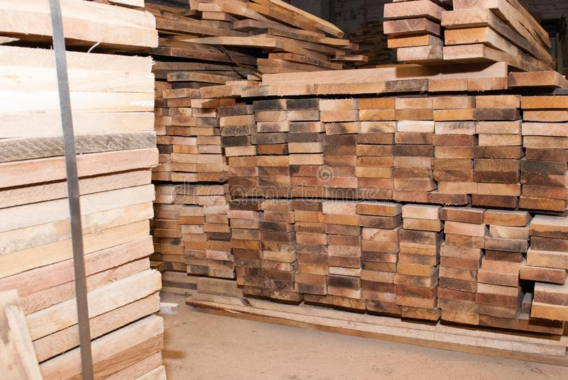 Details of oak boards royalty free stock images