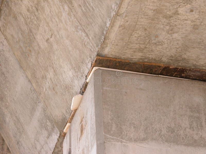 Details onder de spoorweg van Spaanse hogesnelheidstrein, AVE stock foto