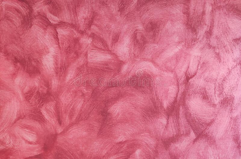 Details of a pink brushed wall, good for backgrounds and wallpapers or banners royalty free stock images