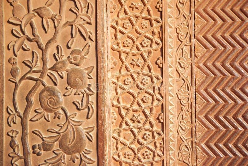 Details of polished sandstone surface. stock photos