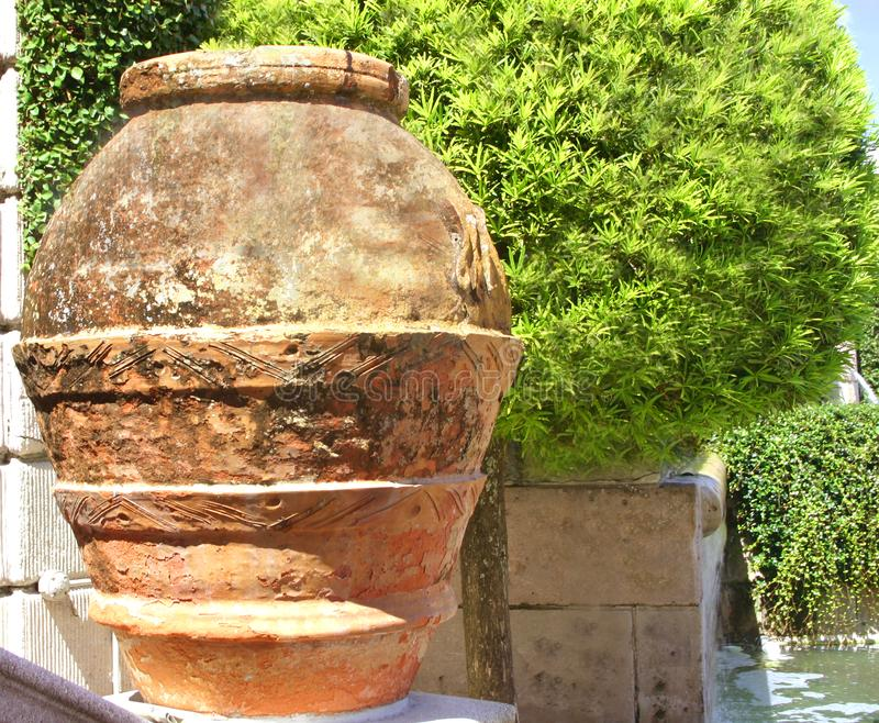 Download Details of red clay pot stock image. Image of museum, tree - 38453