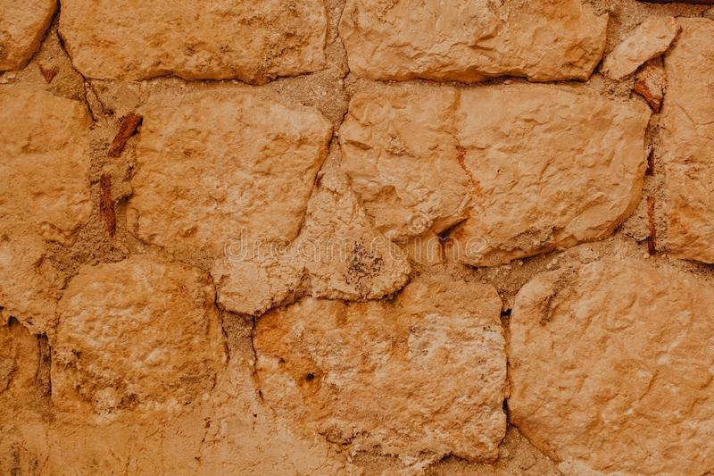 Details of Sand, Stone, Earth Textures CloseUp royalty free stock photography
