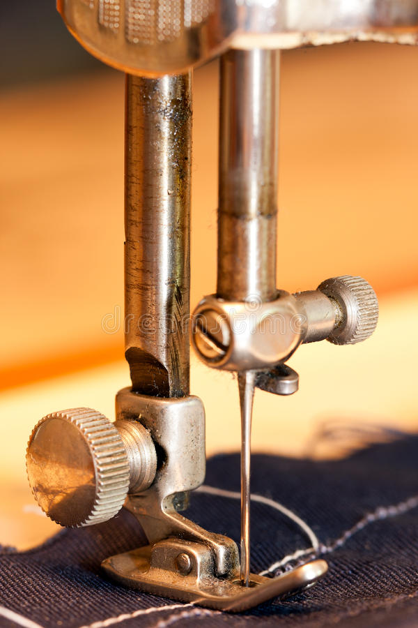 Download Details of sewing-machine stock image. Image of closeup - 16080747