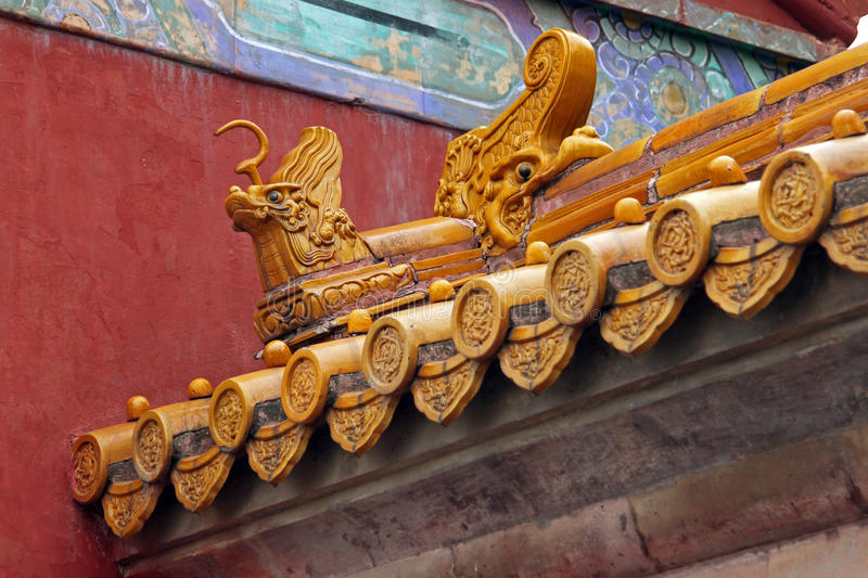 Details of Traditional Chinese roof