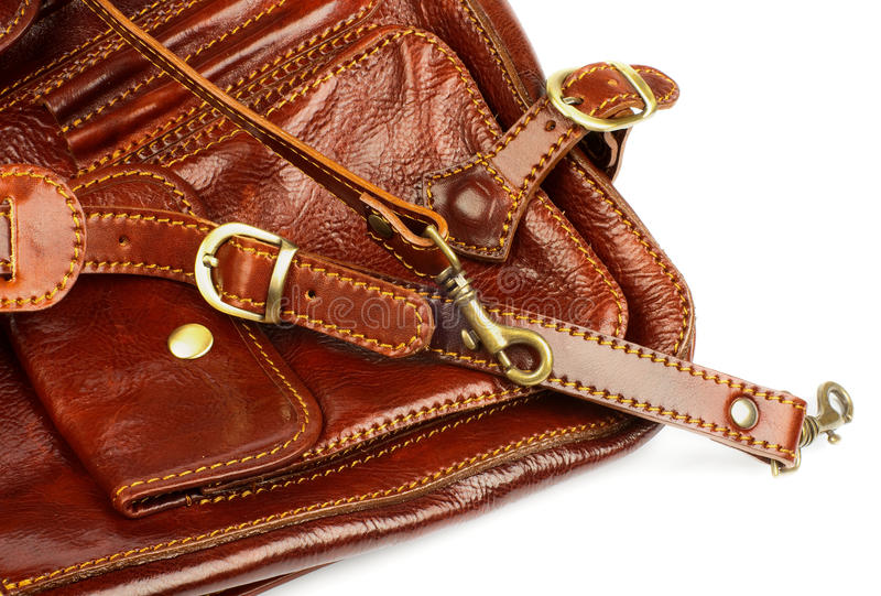 Details Of Traveling Bag Stock Photography