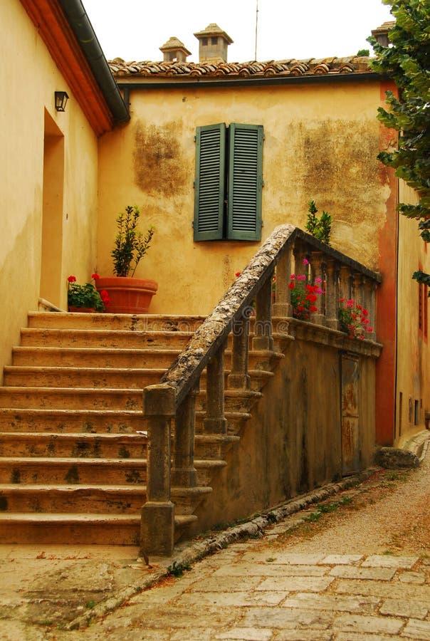 details tuscany arkivfoton
