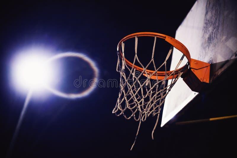 Details van Basketbalhoepel royalty-vrije stock afbeelding