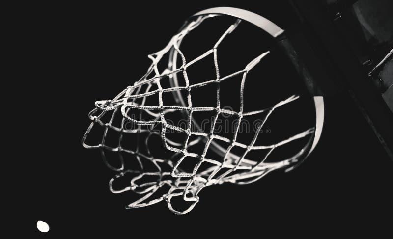 Details van Basketbalhoepel stock foto