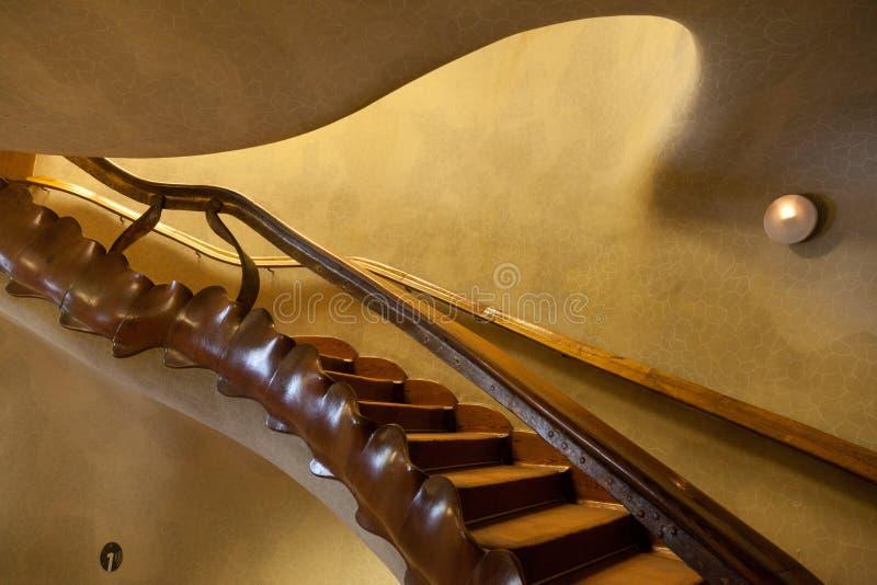 Details van Casa Batllo. Barcelona - Spanje royalty-vrije stock foto