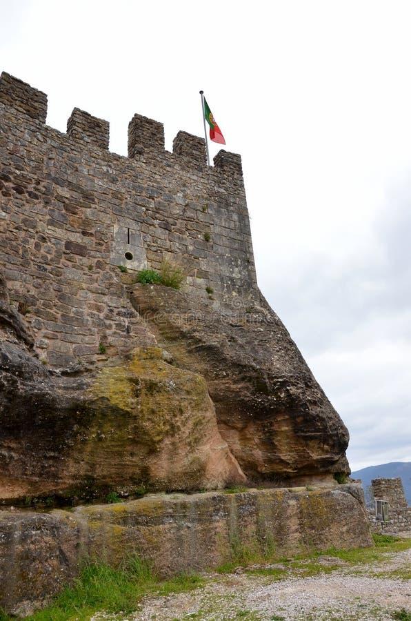 Details van een Portugees kasteel royalty-vrije stock fotografie