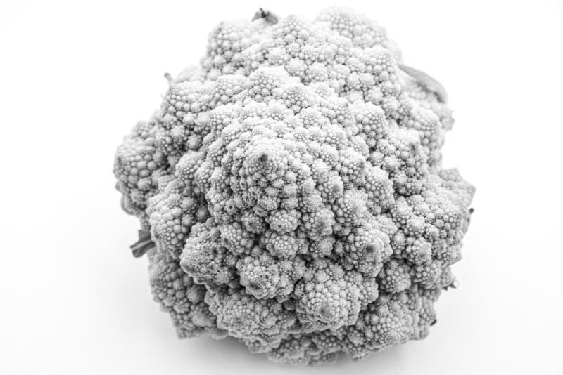 Details van een Romanesco broccoli stock foto