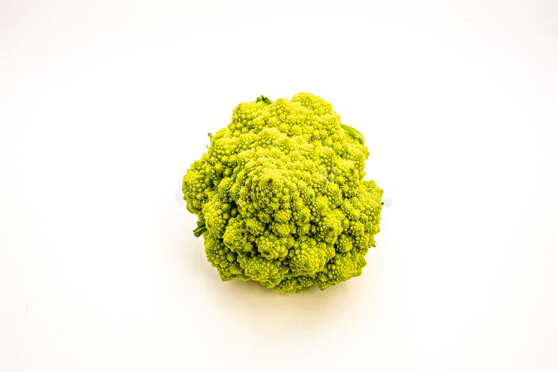Details van een Romanesco broccoli royalty-vrije stock afbeeldingen