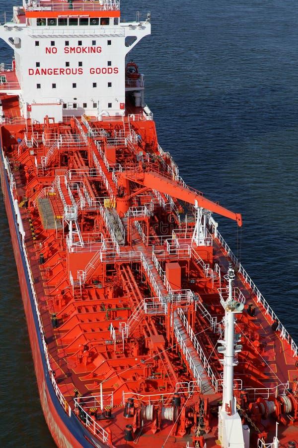 Details van een tanker