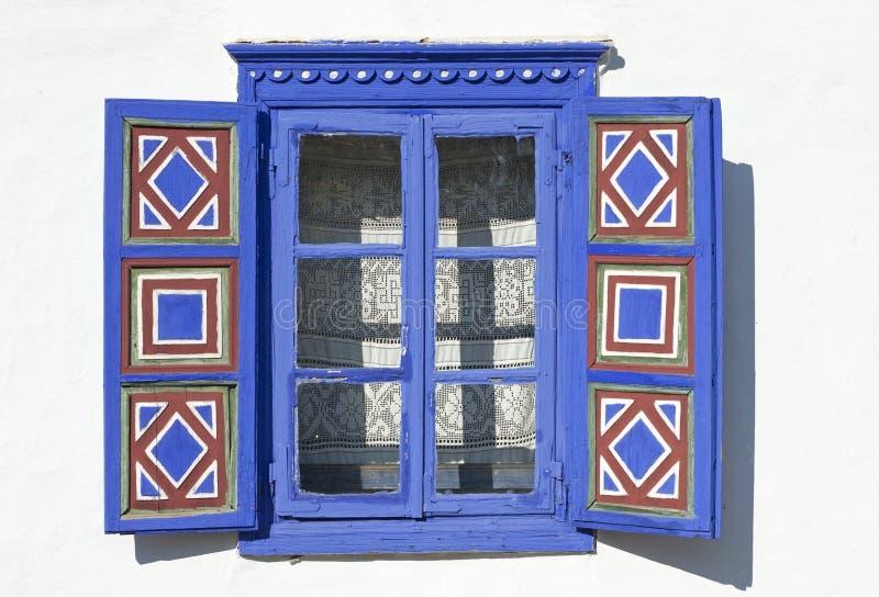 Details van een venster royalty-vrije stock afbeeldingen