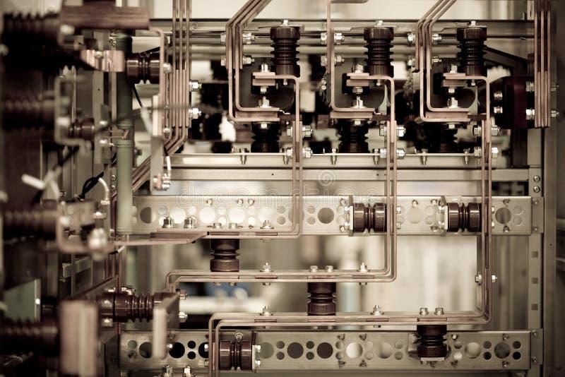 Details van industriële machines royalty-vrije stock foto