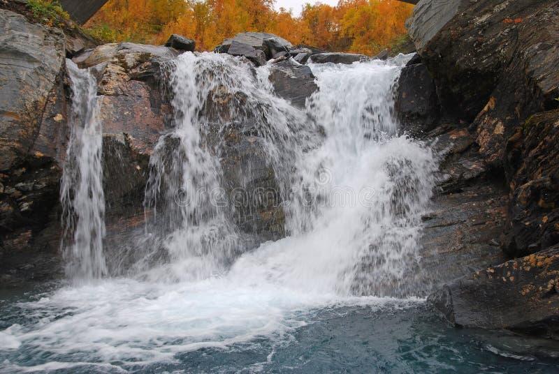 Details van mooie waterval stock foto's