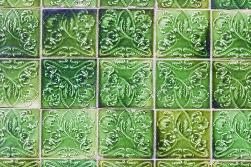 Details von typischen portugiesischen alten keramischen Wandfliesen u. von x28; Azulejos& x29; stockfotografie