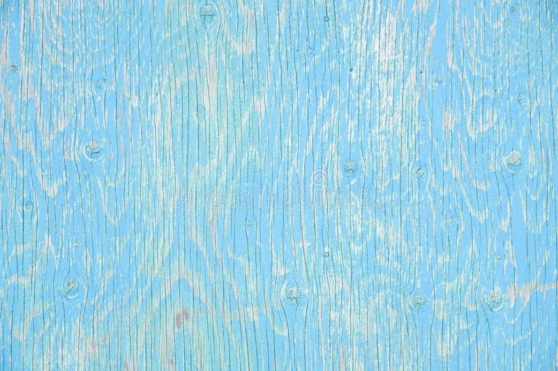 Faded Blue Wood Surface #1 royalty free stock photo