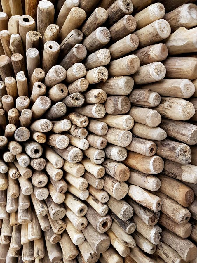 Details of wood in a clear picture. Woodpile closeup. details of wood in a clear picture stock photo