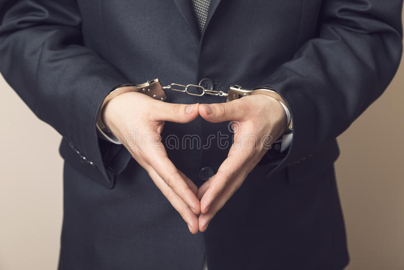 detainee foto de archivo