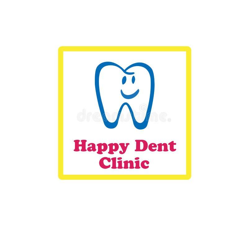 detal klinika logo ilustracja wektor