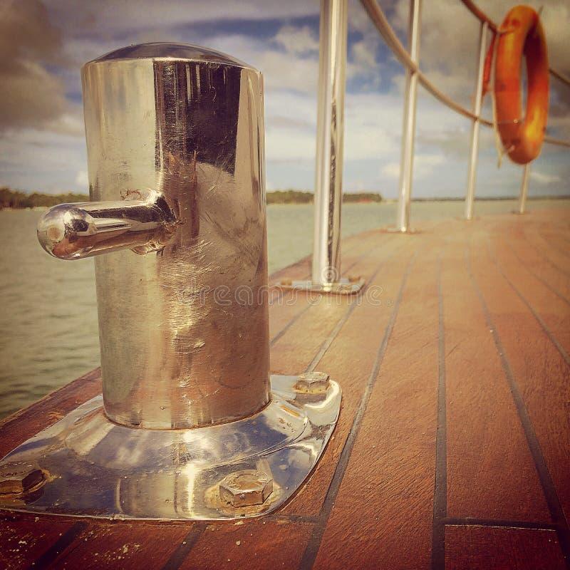 Detalha o barco fotos de stock royalty free