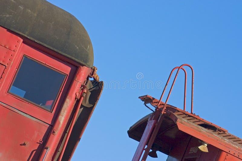 Detalhe 3 Do Trem Foto de Stock Royalty Free