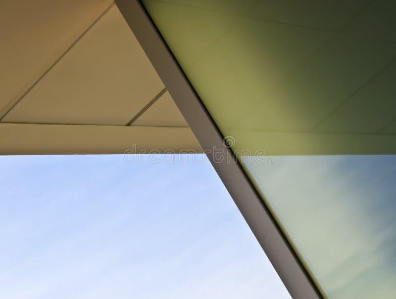 Detalhe abstrato da arquitetura imagens de stock royalty free