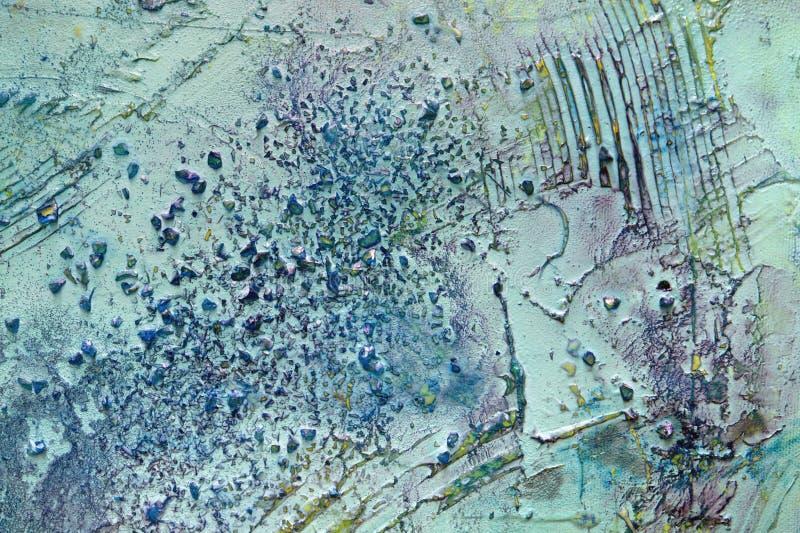 Detalhe abstrato da pintura fotos de stock