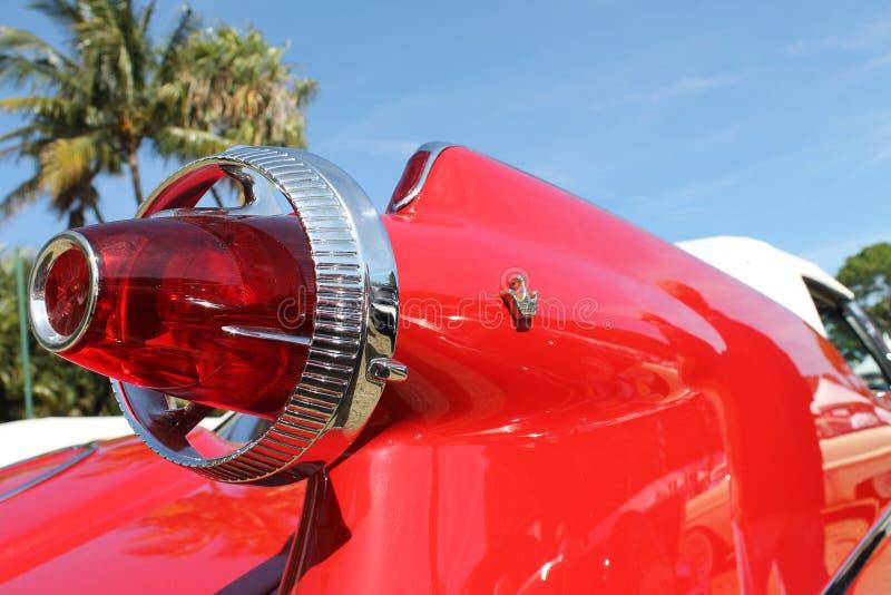 Detalhe americano luxuoso clássico do carro imagens de stock