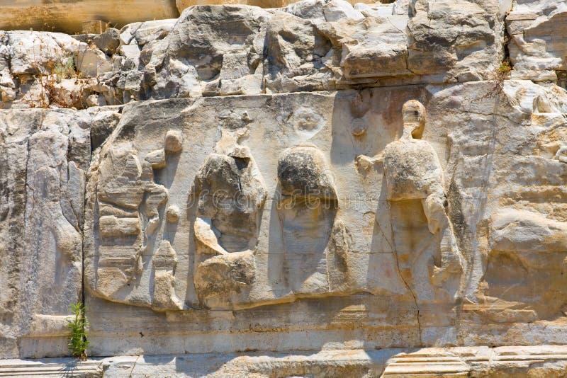 Detalhe arquitectónico, lado, Turquia fotografia de stock royalty free