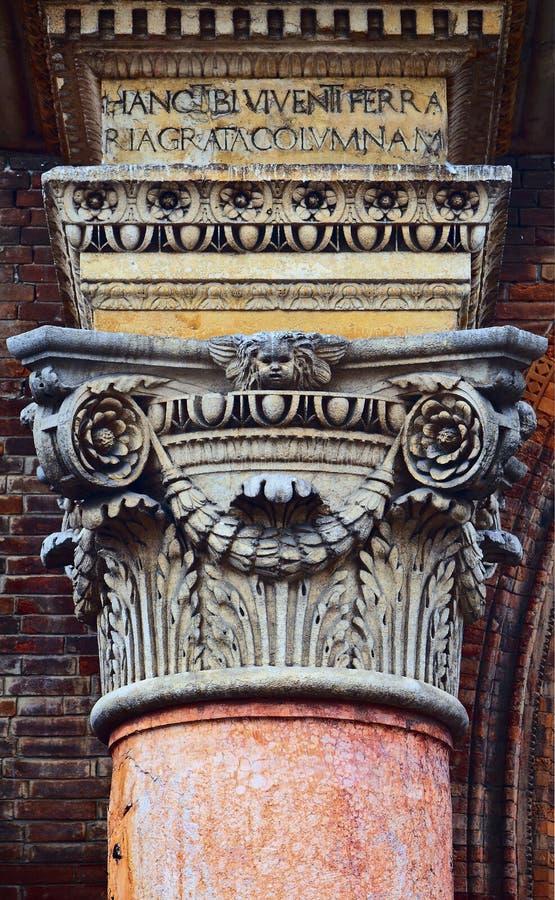Detalhe arquitetónico foto de stock