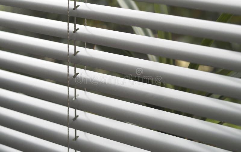 Detalhe cego da janela foto de stock