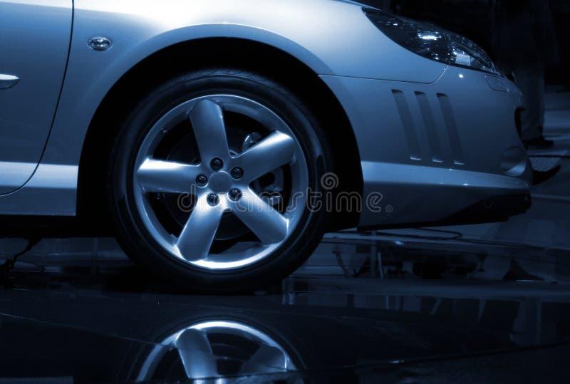 Detalhe da apresentação do carro imagens de stock royalty free