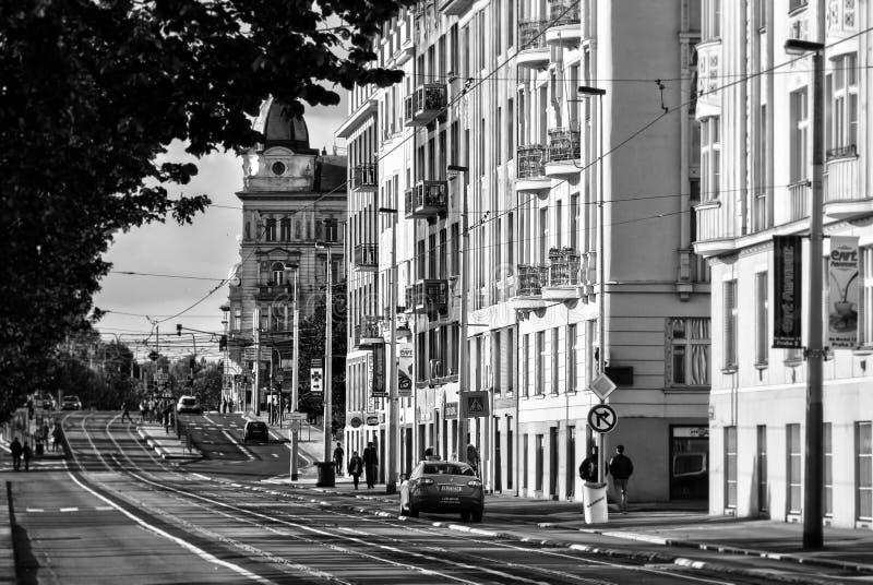 Detalhe da arquitetura de Praga fotografia de stock royalty free