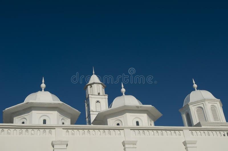 Detalhe da arquitetura de uma mesquita velha. fotografia de stock royalty free