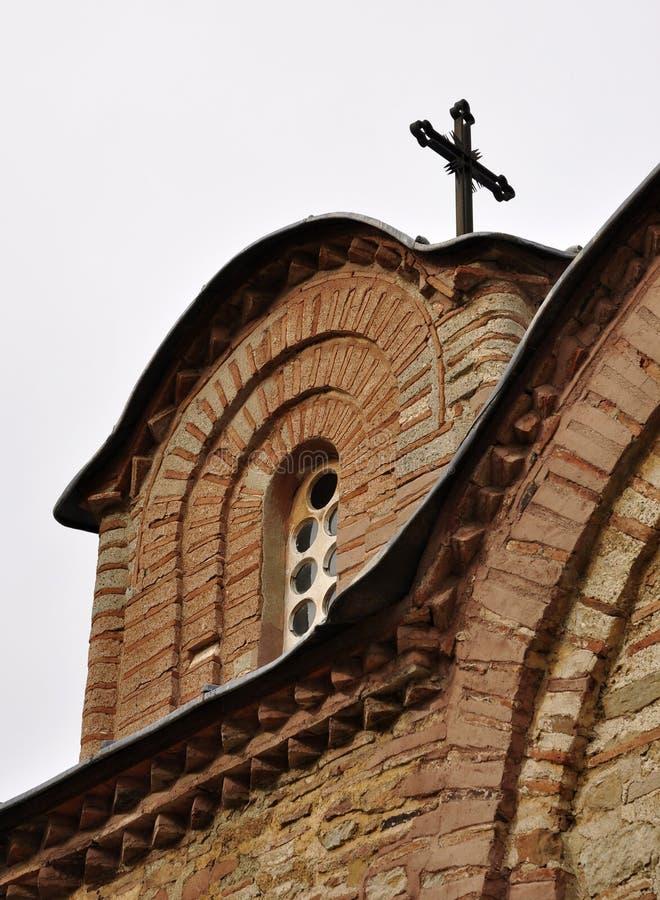 Detalhe da arquitetura do monastério imagens de stock