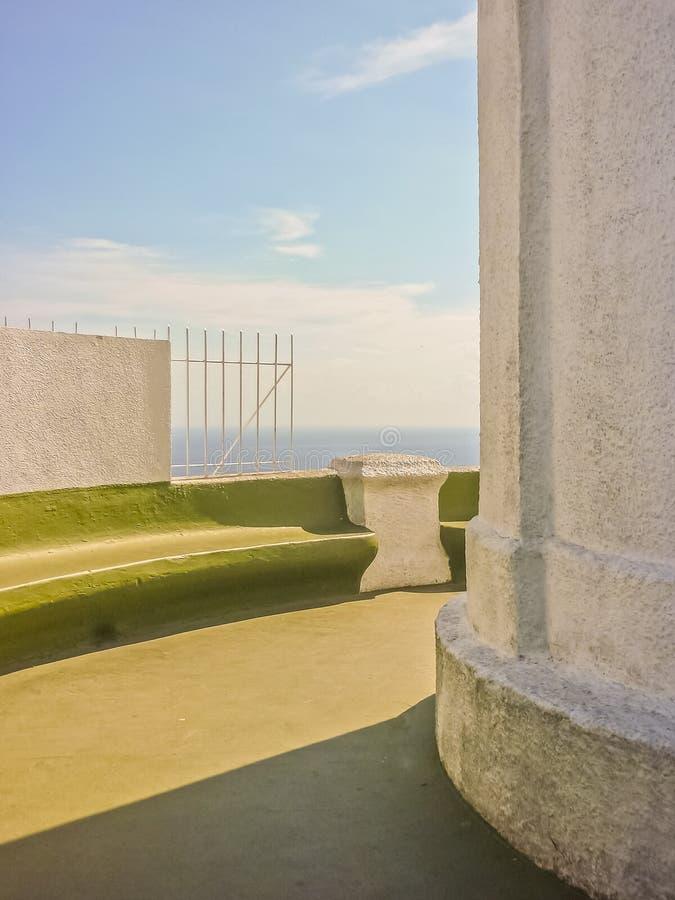 Detalhe da arquitetura em elevações fotografia de stock