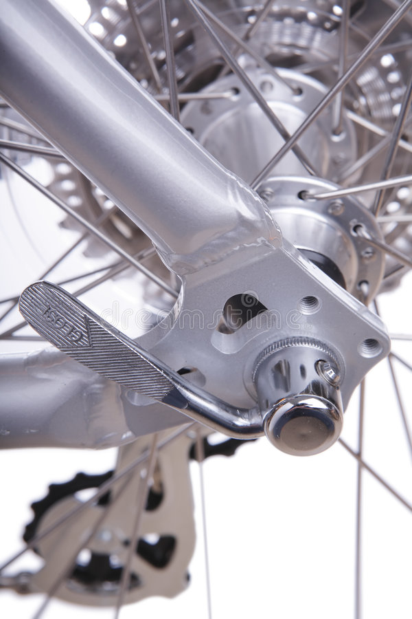 Detalhe da bicicleta imagens de stock