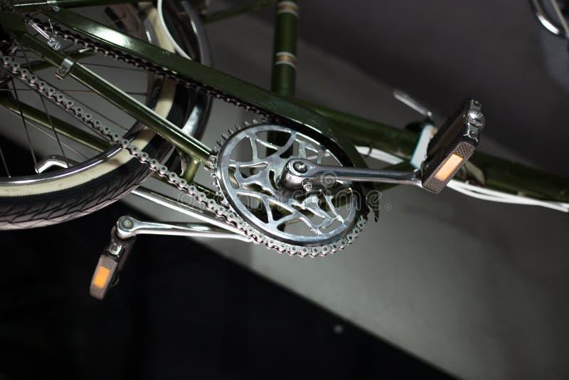 Detalhe da bicicleta foto de stock
