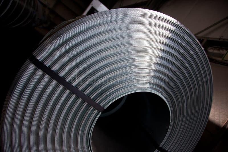 Detalhe da bobina imagem de stock