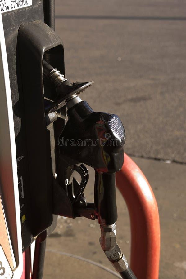 Detalhe da bomba de combustível imagens de stock