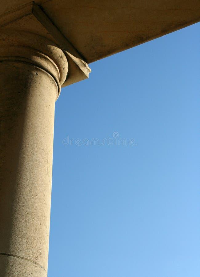 Detalhe da coluna imagem de stock