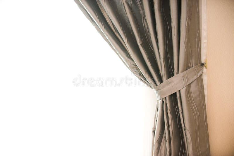 Detalhe da cortina imagem de stock royalty free