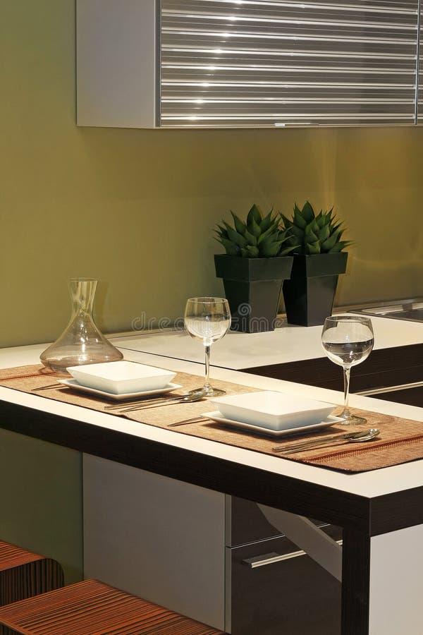 Detalhe da cozinha 1 imagens de stock