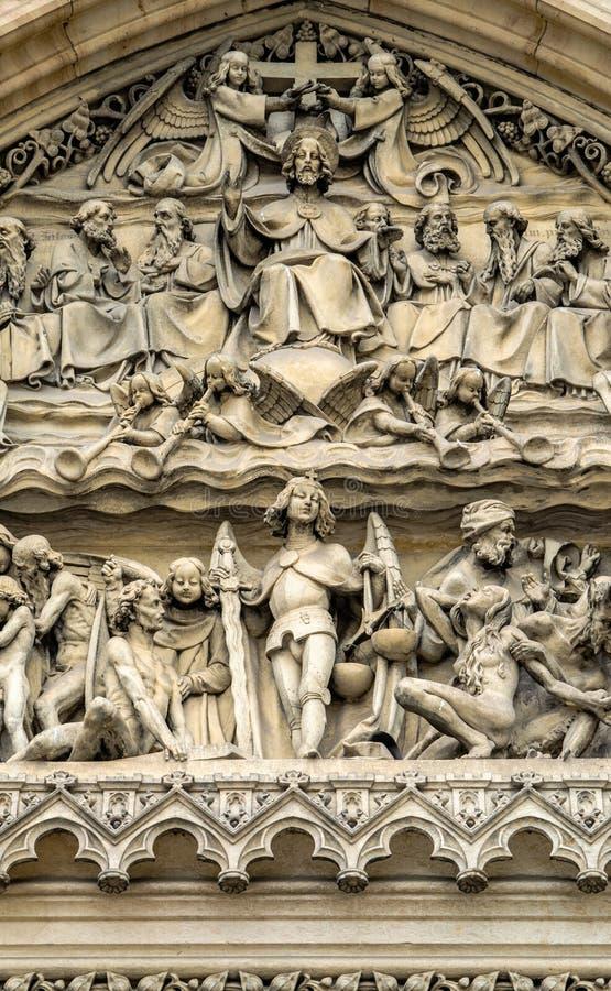 Detalhe da decoração - Peter e Paul Churchy imagens de stock royalty free