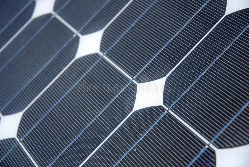 Detalhe da energia solar fotos de stock
