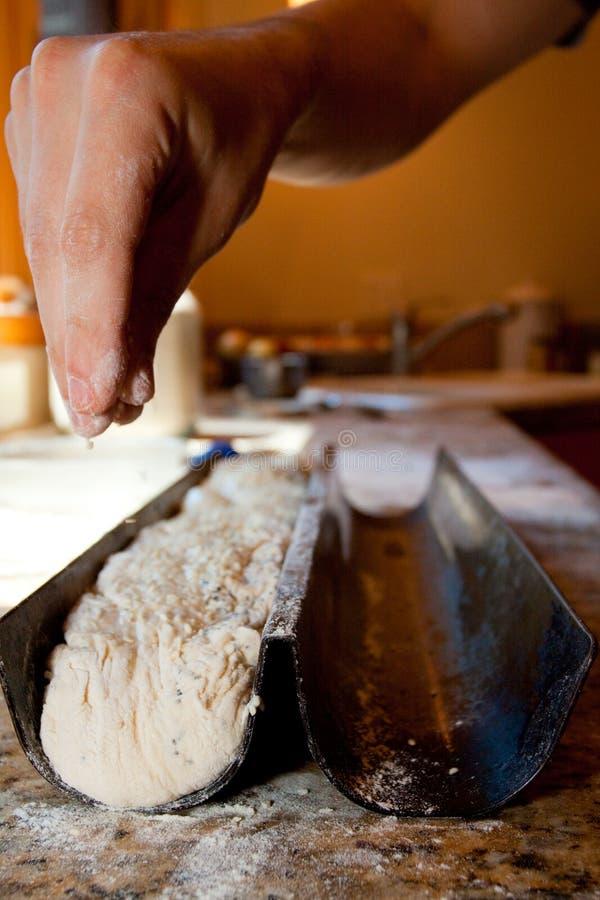 Detalhe da factura de pão fotografia de stock royalty free